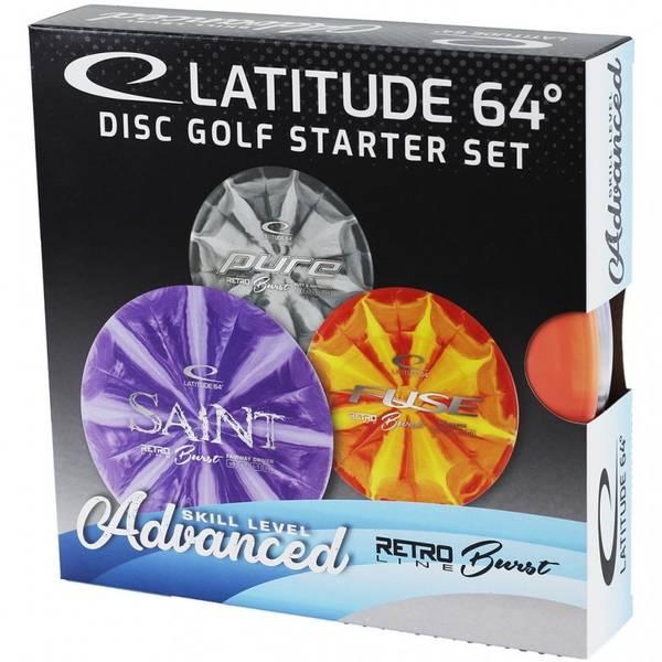 Bilde av Retro Burst Advanced Disc Golf Starter Set